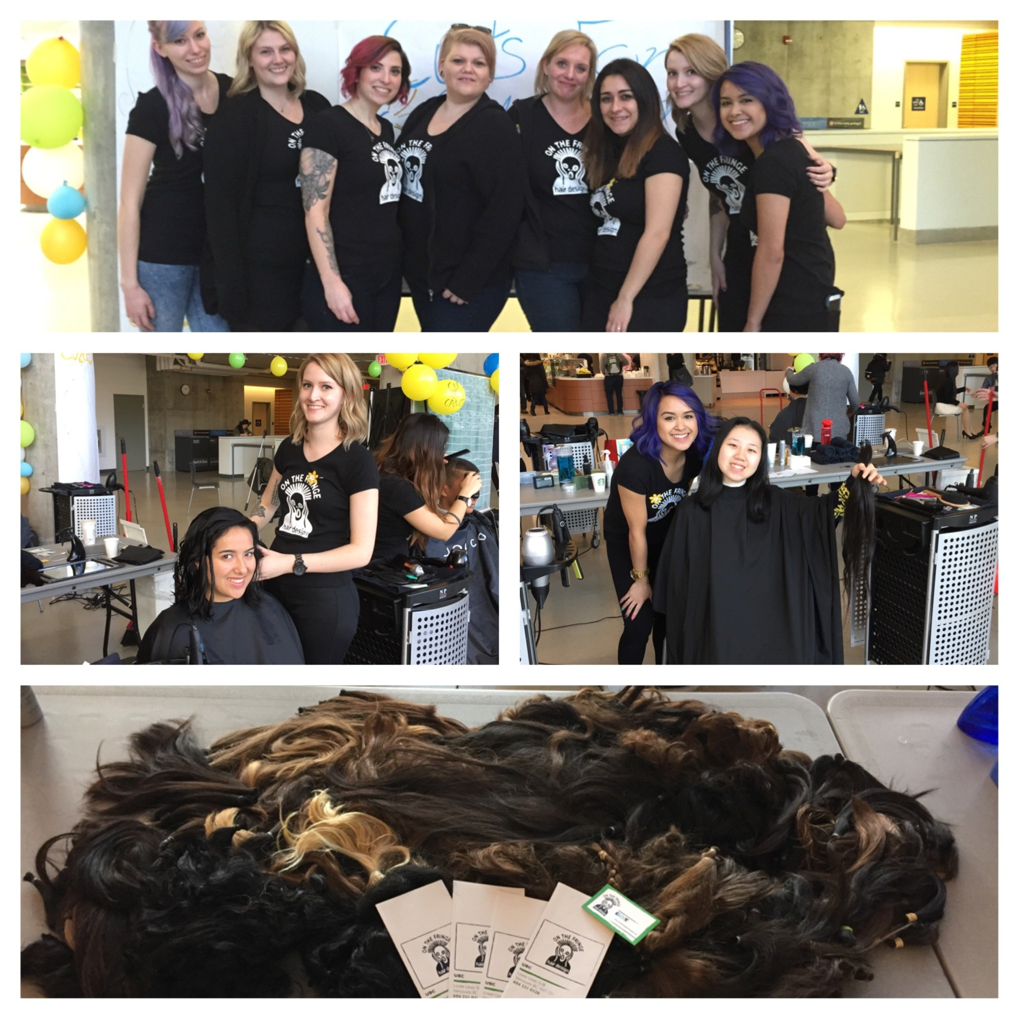 On The Fringe Hair Design Cuts For Cancer 2016 March